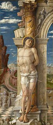 Painting - Saint Sebastian by Andrea Mantegna