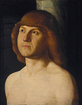 Painting - Saint Sebastian by Follower of Antonello da Messina