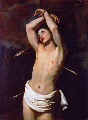 Catholic For Sale Painting - Saint Sebastian by Nicolas Regnier