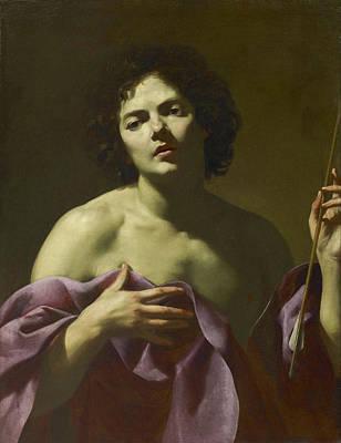 Saint Painting - Saint Sebastian by Simon Vouet