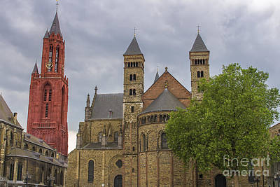 Maastricht Wall Art - Photograph - Saint Servaes And Saint Johns by Patricia Hofmeester