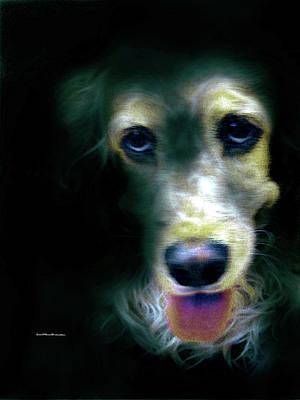 Digital Art - Saint Shaggy Art 14 by Miss Pet Sitter