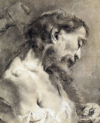 Saint Simon Art Print by Giovanni Battista Piazzetta
