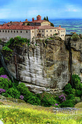 Photograph - Saint Stephen's Monastery In Meteora, Greece by Global Light Photography - Nicole Leffer