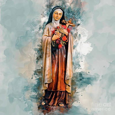 Painting - Saint Teresa by Ian Mitchell