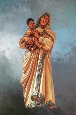 Mother Teresa Photograph - Saint Teresa Of Calcutta by Donna Kennedy