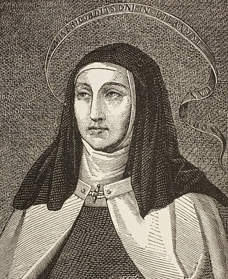 Saint Teresa Of Art Print