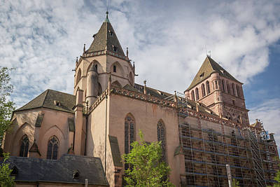 Photograph - Saint Thomas Church Strasbourg France by Teresa Mucha