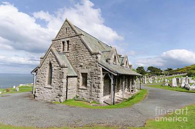 Photograph -  Saint Tudno Church 2 by Steev Stamford