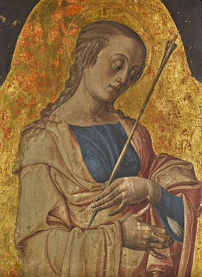 Painting - Saint Ursula by Alvise Vivarini