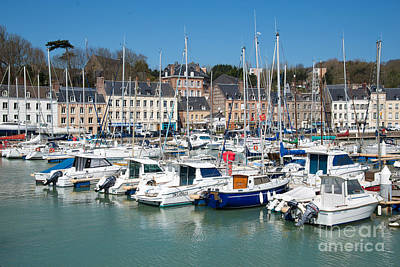 Harbor Scene Wall Art - Photograph - Saint Valery En Caux by Delphimages Photo Creations