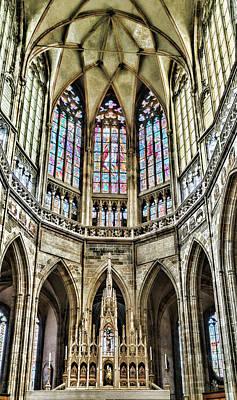 Photograph - Saint Vitus Choir by Sharon Popek