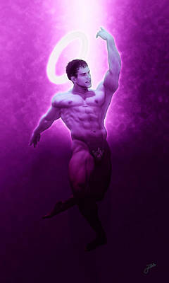 Dancer Digital Art - Saint Vitus Patron Of Dancers by Joaquin Abella