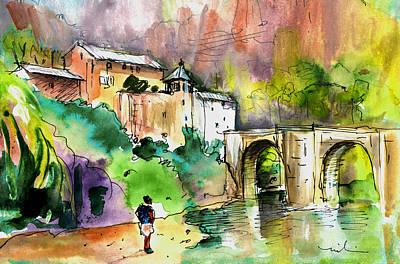 Painting - Sainte Enimie 04 by Miki De Goodaboom