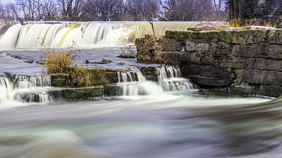 Wall Art - Photograph - Sainte Martine Waterfall by Michel Emery