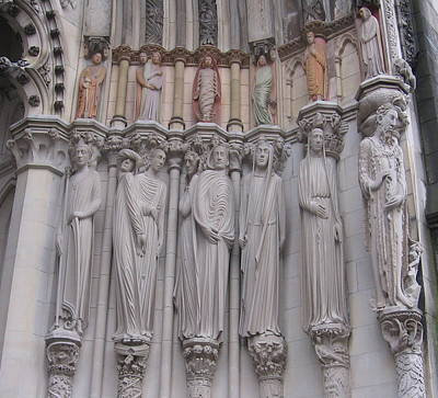 Photograph - Saints At St. John The Divine by Karen J Shine