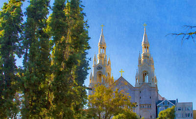 Photograph - Saints Peter And Paul Church by Bonnie Follett