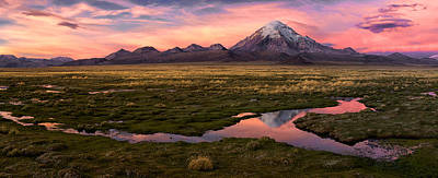 Puddle Photograph - Sajama by Margarita Chernilova