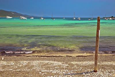 Photograph - Sakarun Turquoise Beach On Dugi Otok Island by Brch Photography