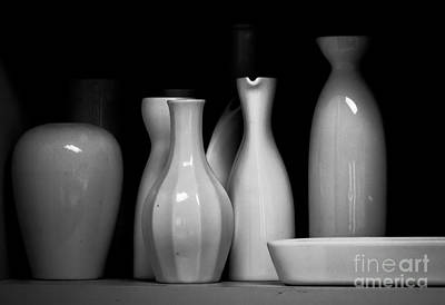Sake Bottle Photograph - Sake Bottles by Rich Governali