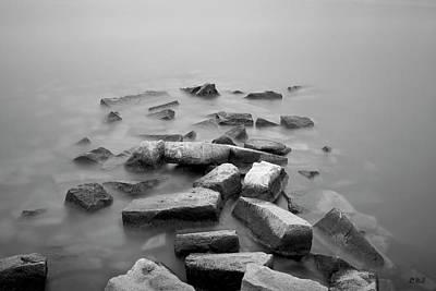 Photograph - Sakonnet River I Bw by David Gordon