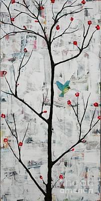 Painting - Sakura by Natalie Briney