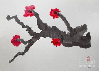 Painting - Sakura No Jikan II by Roberto Prusso