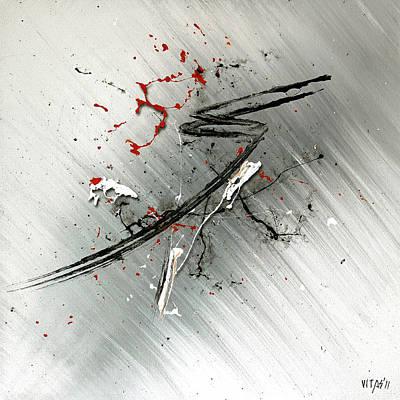 Moderne Kunst Painting - Sakura by Vitali Skacidub