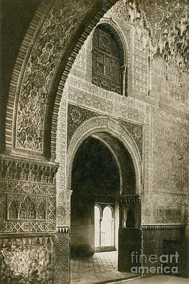 The Two Sisters Photograph - Sala De Las Dos Hermanas, Alhambra by Science Source
