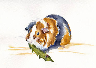 Painting - Salad Days by Debra Hall