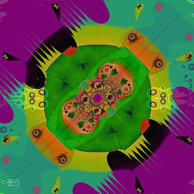 Digital Art - Salad Daze by Jim Pavelle