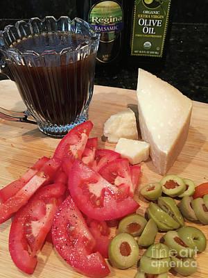 Vinaigrette Photograph - Salad Fixings by Anne Kitzman