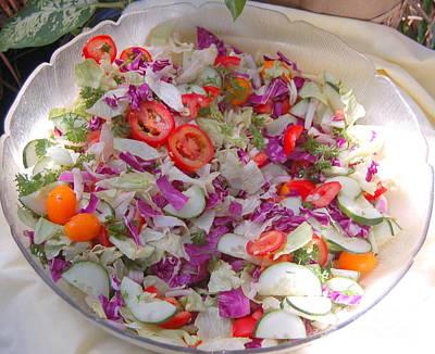 Salad Art Print