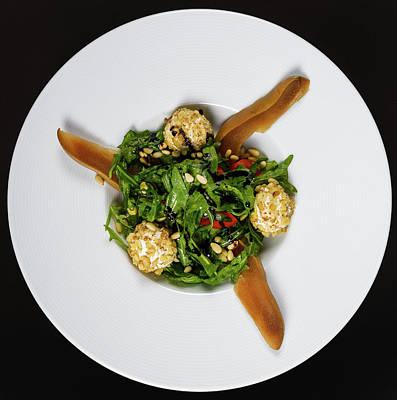 Salad Vegetarian Art Print