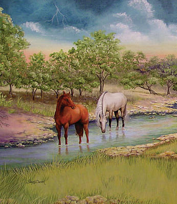 Painting - Salado 2 by Sandy Dusek