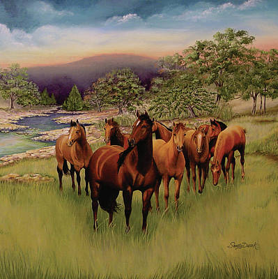 Painting - Salado 3 by Sandy Dusek