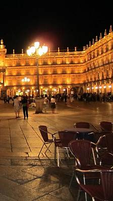 Photograph - Salamanca Plaza V Spain by John Shiron