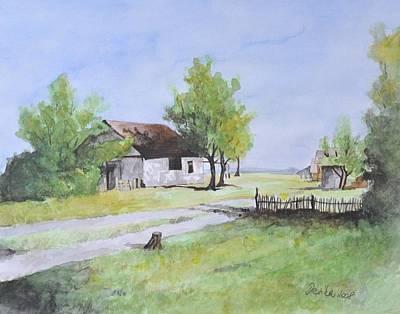 Salas L Art Print by Desimir Rodic