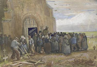 Painting - Sale Of Building Scrap Nuenen, May 1885 Vincent Van Gogh 1853  1890 by Artistic Panda
