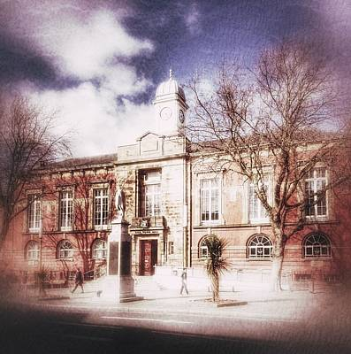 Photograph - Sale Town Hall by Isabella F Abbie Shores FRSA