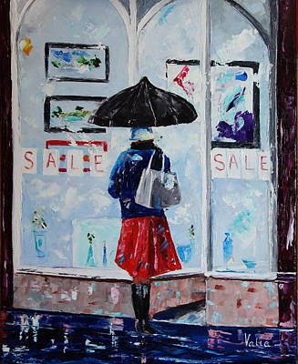 Painting - Sale by Valerie Curtiss