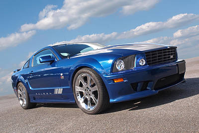 Blue Ford Photograph - Saleen S281 by Gill Billington
