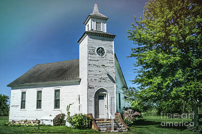 Photograph - Salem Country Church by Lynn Sprowl