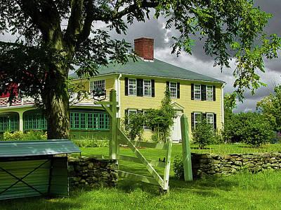 Salem Cross Inn Photograph - Salem Cross Inn by Bill Dussault
