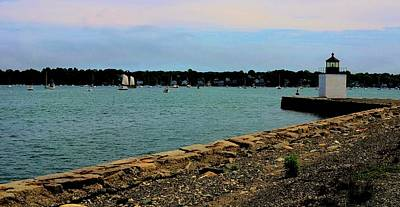 Photograph - Salem Harbor by Corinne Rhode