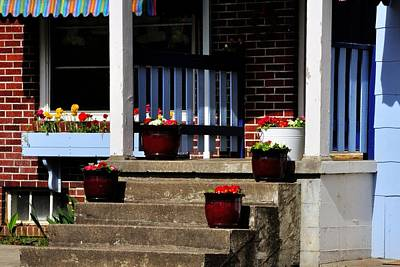 Jerry Sodorff Royalty-Free and Rights-Managed Images - Salem Porch 303 by Jerry Sodorff