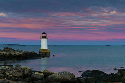 Photograph - Salem Sunset 1 by Brian Hale