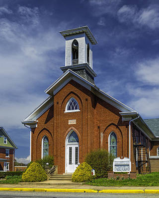 Photograph - Salem United Church Of Christ  by Nick Zelinsky