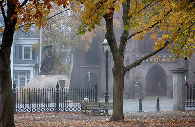 Photograph - Salem Witch Museum Afterwards by Jeff Folger