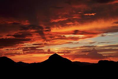 Photograph - Salero Sunset 10 by Tom Daniel
